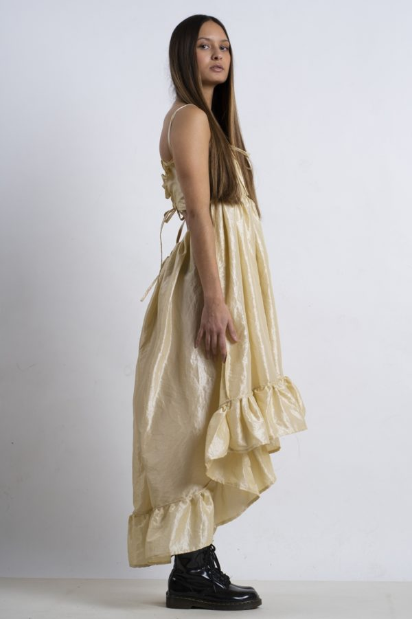 JULIA – LIGHT GOLD DRESS