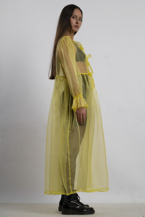 MARA – YELLOW DRESS