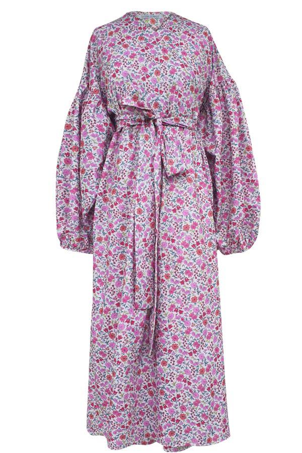 ALYSSA – PINK BLOSSOM DRESS