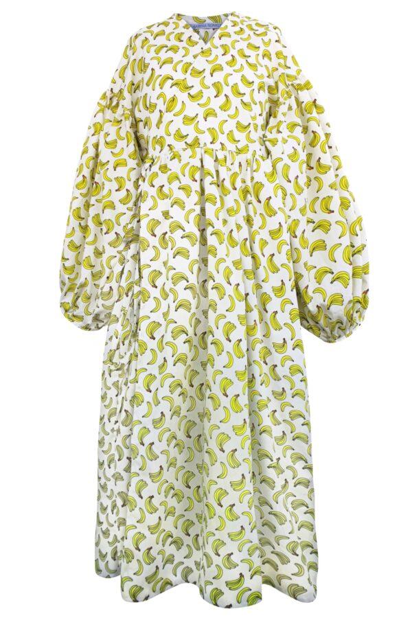 ALYSSA – BANANAS DRESS