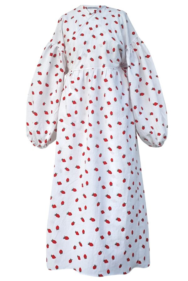 ALYSSA – STRAWBERRY DRESS