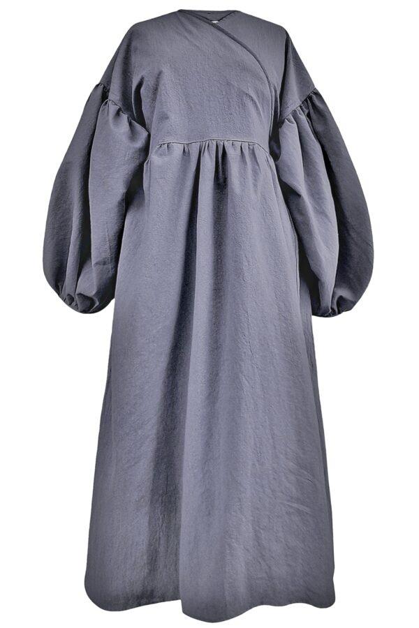 ALYSSA – GREY DRESS