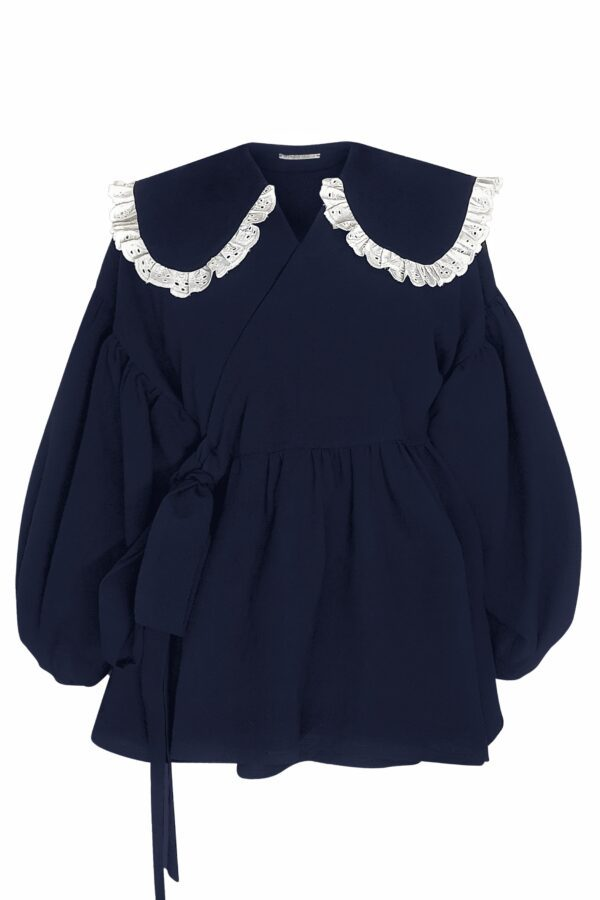 DINA – NAVY SHIRT