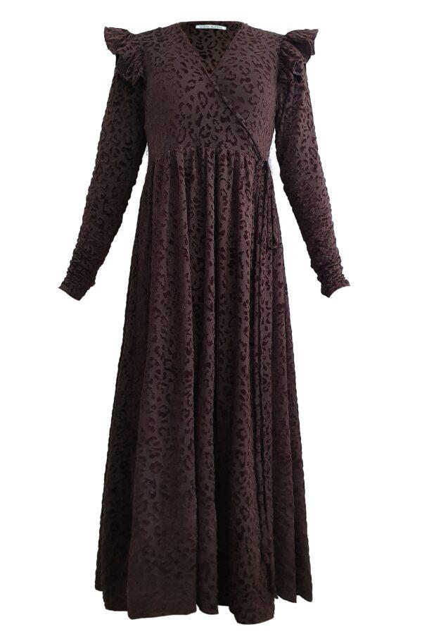 SORAYA –  BROWN DRESS