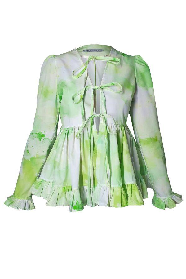 MILA – GREEN SHIRT