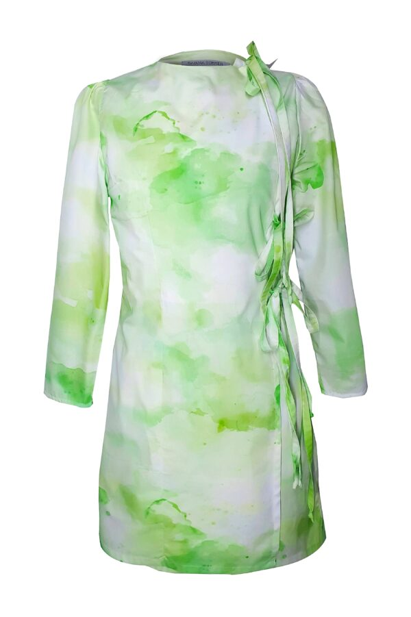 BINA – GREEN DRESS