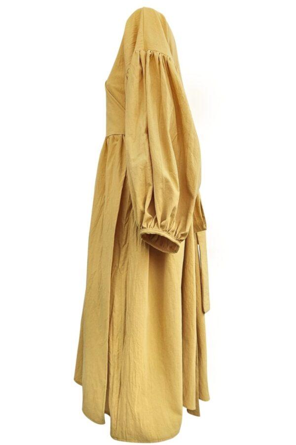 ALYSSA – RUST DRESS